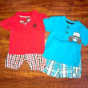 BUNDLE!!! toddler shirt & shorts set